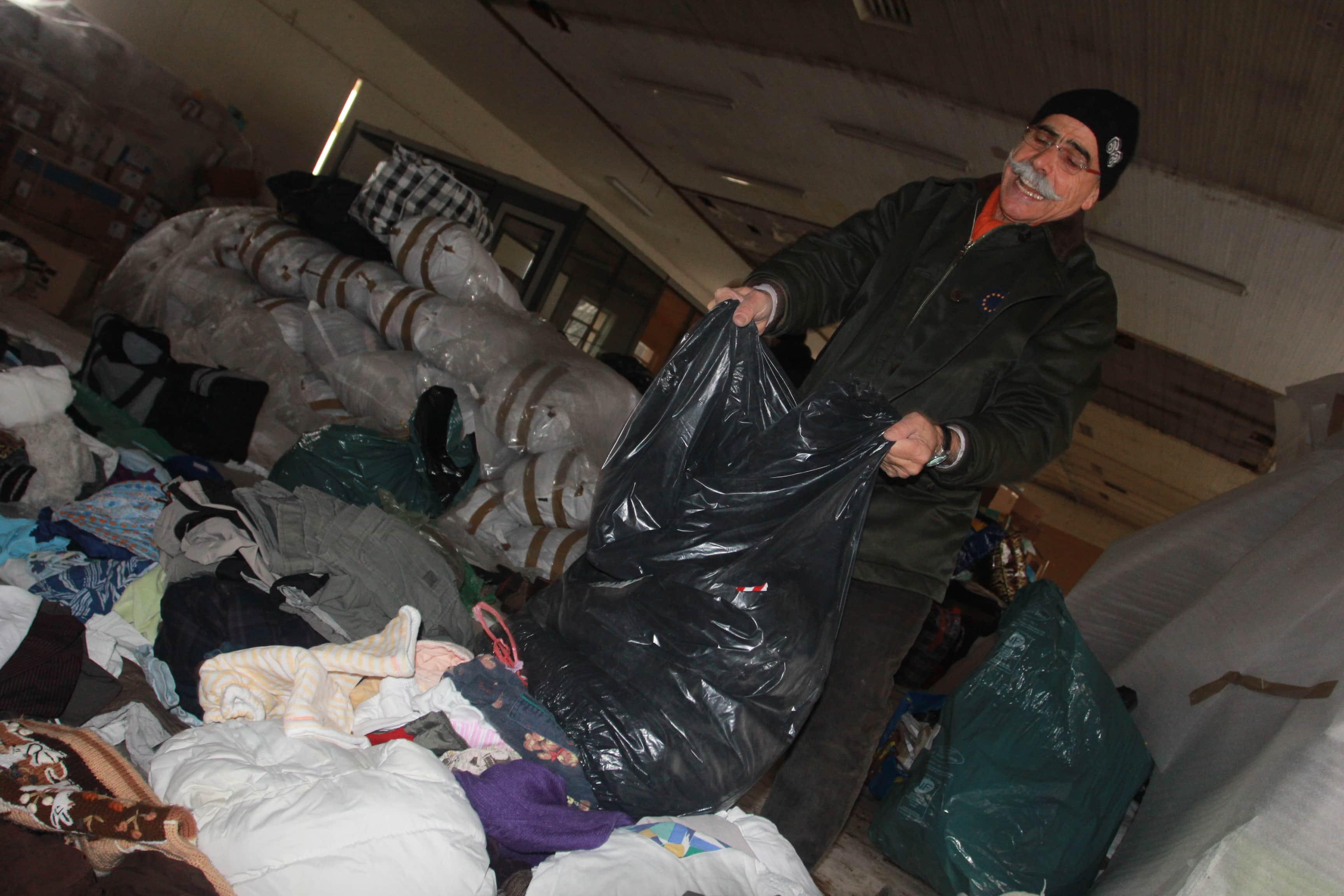Alsace-Syrie doit expédier 15 tonnes de vêtements, mission impossible