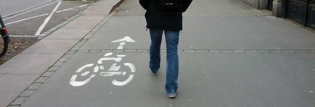 L'association Piétons 67 veut la fin des trottoirs partagés