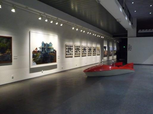 Vue de l'exposition à la médiathèque intercommunale à Sélestat. Photo: Agence Culturelle d'Alsace