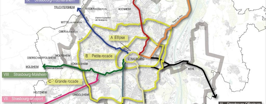 En 2020, Vélostras, réseau d'autoroutes cyclistes, maillera le territoire de la CUS