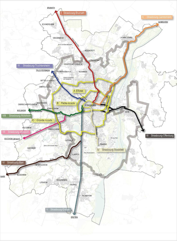 En 2020 v lostras r seau d 39 autoroutes cyclistes maillera le territoire de la cus rue89 - Salon de la gastronomie strasbourg ...