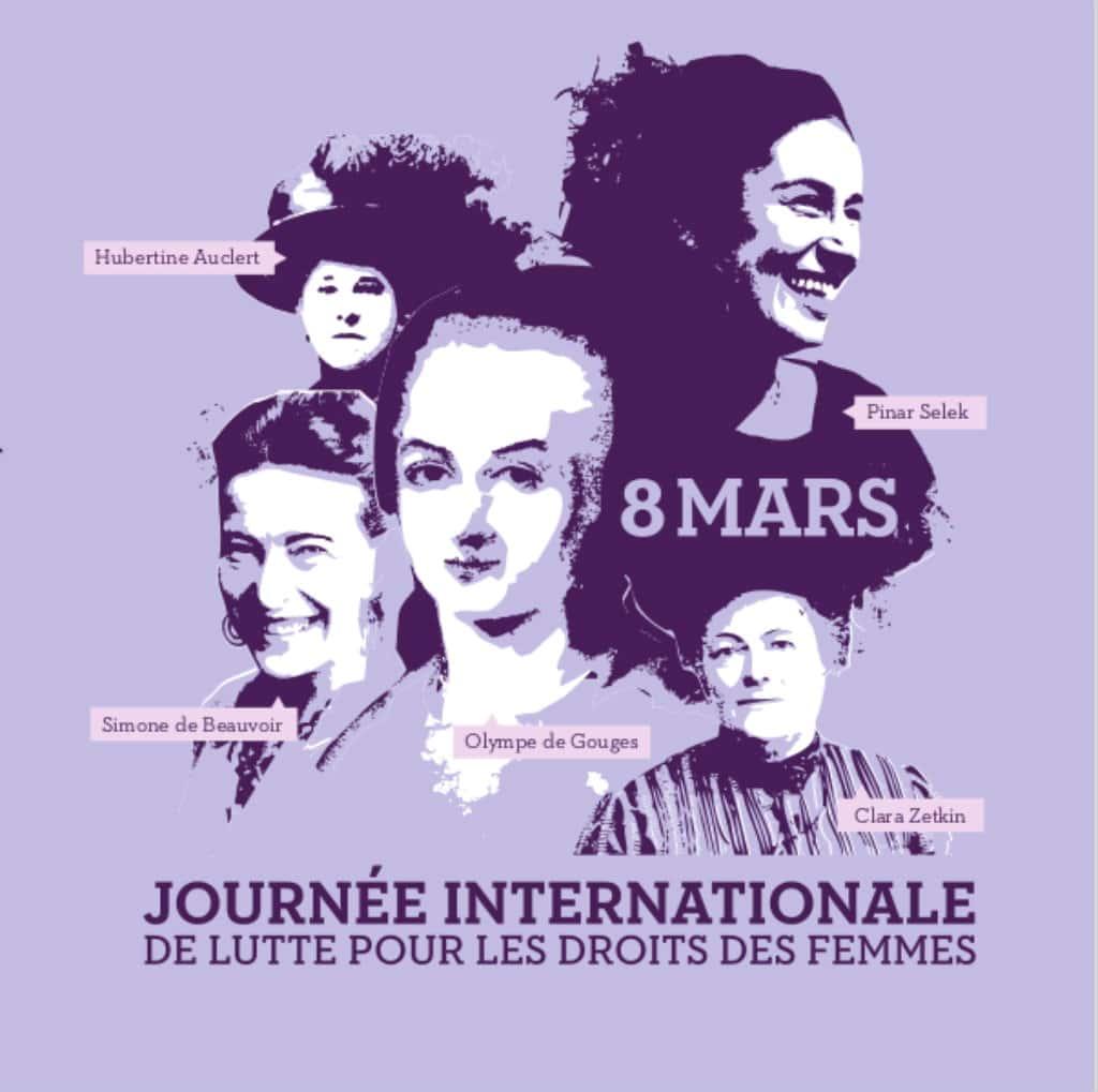 Resultado de imagen de fle+journée internationale de la femme