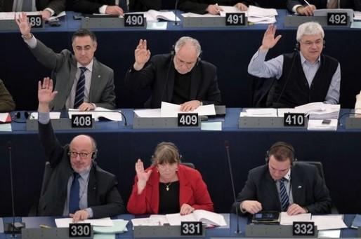 Les eurodéputés votent en bloc contre le budget européen (Photo FL/AFP)