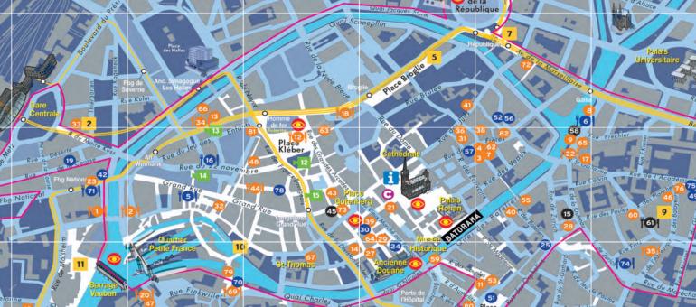 Une carte pour sortir le soir à Strasbourg