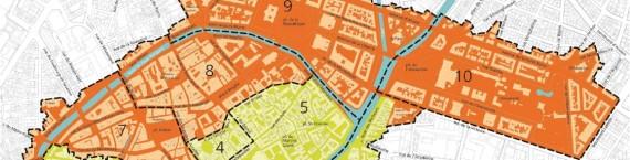 Calendrier et secteurs d'étude pour l'extension du plan de sauvegarde et de mise valeur (PSMV) de Strasbourg (Document CUS)