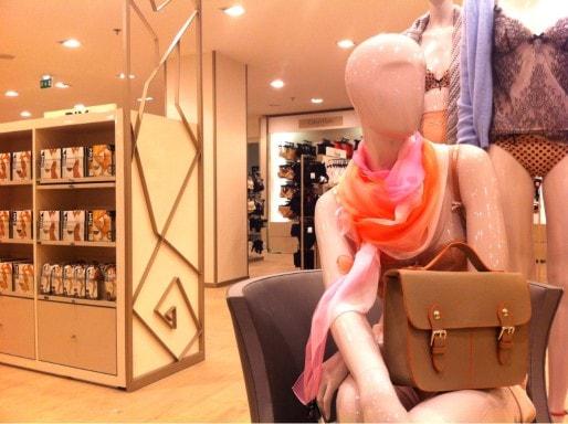 """La lingerie """"femme"""" au 3ème étage (Photo MM/Rue89 Strasbourg)"""