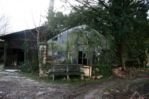 Les autres constructions du parc, serre, abri de jardin, pigeonnier... ont été détruits ou sont délabrés (Photo MM)