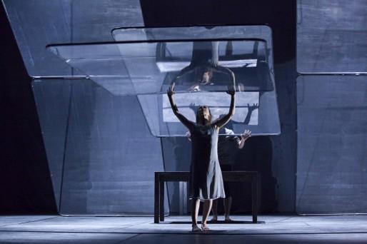La compagnie finlandaise a présenté son dernier spectacle en avant-première la semaine dernière au théâtre du Maillon (Photo : Michel Nicolas)