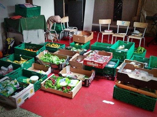 Bonne récolte pour la cantine (Photo PF / Rue89 Strasbourg)