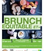 Flyer Brunch équitable et +