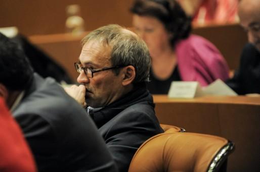 Philippe Bies, député PS, l'un des successeurs potentiels de Roland Ries (Photo Pascal Bastien)