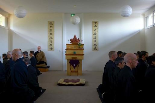 Séance de méditation Zen