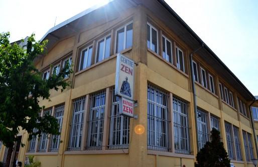 Le Centre Zen de Strasbourg, rue des magasins (Photo AB / Rue89 Strasbourg)