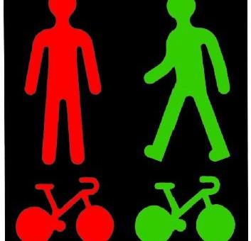 Vélo à Strasbourg: nouvelle signalisation à quatre croisements