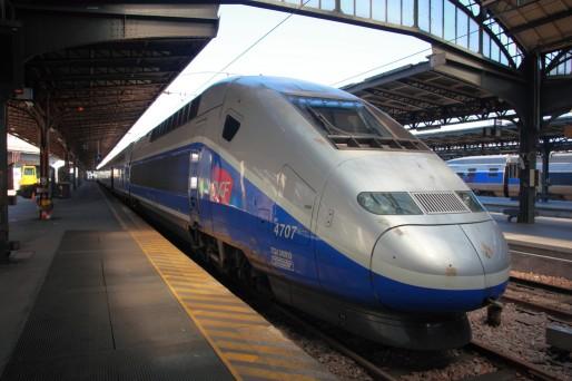 Un TGV Est (Photo Dmytrok / Flickr / CC)