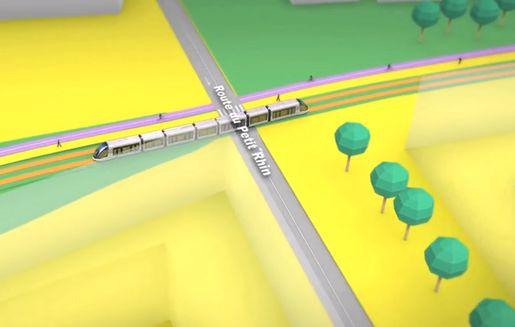 Vidéo : le tram D en 3D