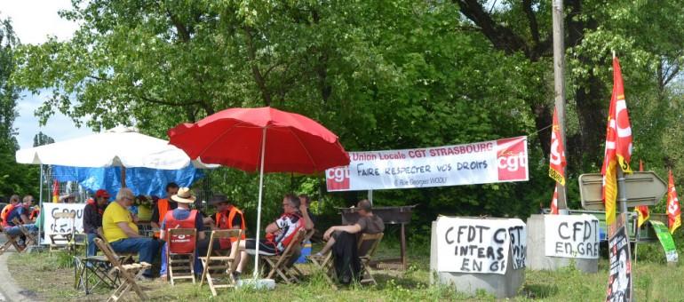 En grève, les ouvriers de l'usine d'incinération craignent pour leur santé