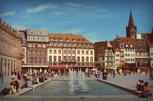 Place Kléber, été 2011 ( the yellowrider / Flickr / CC)