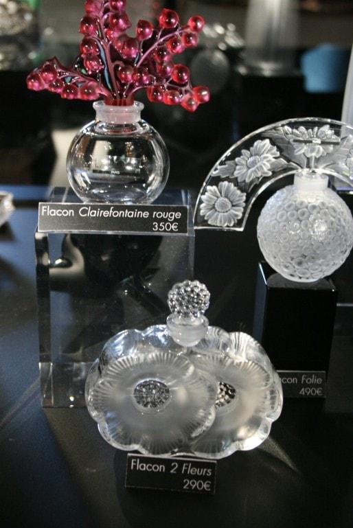 La boutique du musée se fournit directement à l'usine Lalique de Wingen (Photo MM / Rue89 Strasbourg)