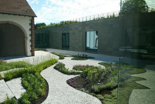 Le Musée Lalique a ouvert en juillet 2011 à Wingen-sur-Moder (Photo MM / Rue89 Strasbourg)