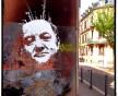 Coluche, rue de la Petite Course à Strasbourg (Photo Dan23)