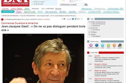 Jean-Jacques Gsell lance l'assaut contre les fermetures des commerces le dimanche
