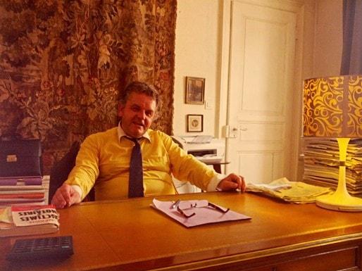 Me André Kornmann, ancien centriste, affirme pourtant avoir toujours été proche du FN (Photo PF / Rue89 Strasbourg)