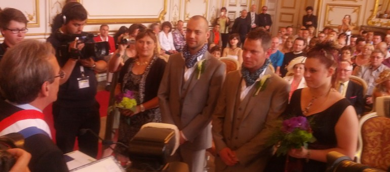 Marche des visibilités samedi, et un mariage