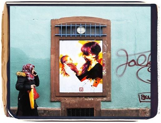You and I, rue de Pâques à Strasbourg (Photo Dan23)