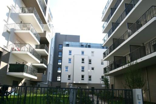 Quartier du Bruckhof, 650 logements là où n'en étaient prévus que 350 (Photo MM / Rue89 Strasbourg)