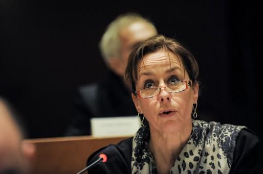 Fabienne Keller, sénatrice du Bas-Rhin (Photo Pascal Bastien)