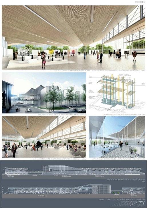 Parc expo et quartier d 39 affaires les projets se for Parc des expo strasbourg