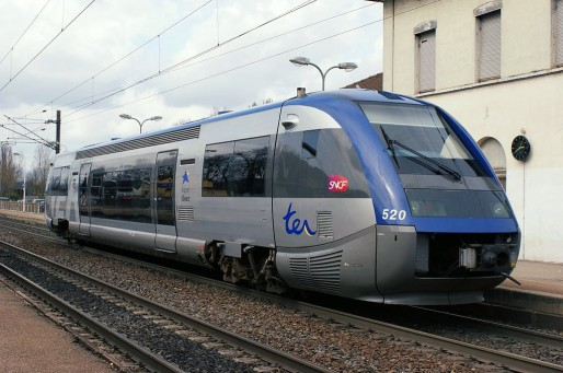 Un TER Alsace en gare de Mulhouse-Dornach (Hugh Llewelyn/Wikimediacommons/CC)