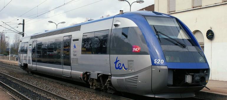 Faibles perturbations sur le TER Alsace mardi