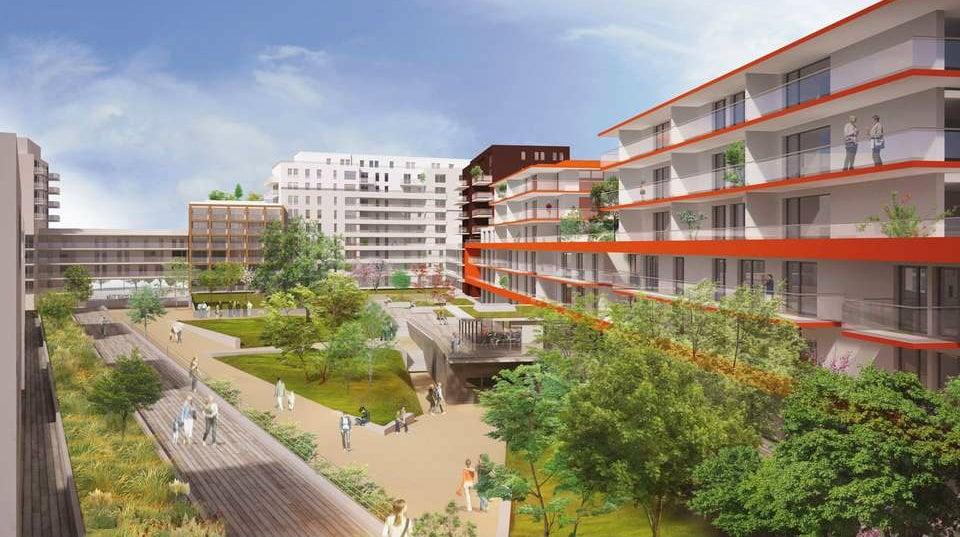 R sidence du jardin des deux rives le rhin se vend bien for Jardin des 2 rives strasbourg