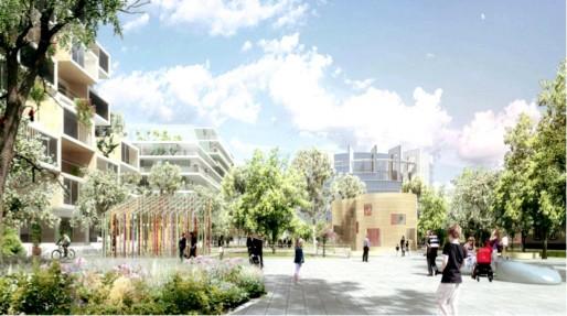 """Le parc du projet """"Allée de traverse"""" (EGA pour la CUS)"""