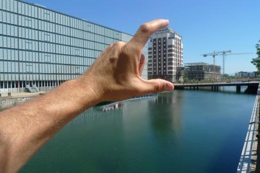 """Le slogan de Carticipe : """"Prenez votre ville en mains"""" (Photo Repérage Urbain)"""