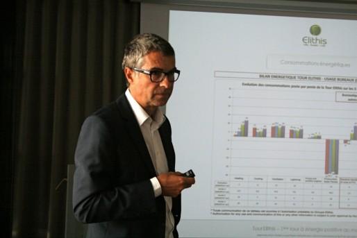 Thierry Bièvre, PDG d'Elithis, emploie 180 collaborateurs, dans 5 filiales basées à Dijon, en Suisse et au Vietnam (Photo MM / Rue89 Strasbourg)