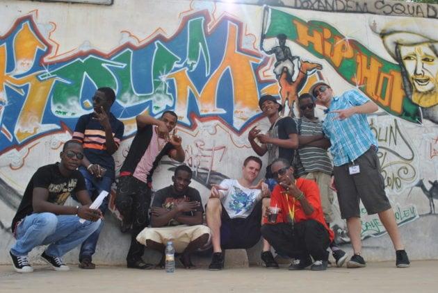 En Mauritanie, Zweierpasch a collaboré avec des rappeurs locaux sur son dernier album. Photo : Document remis