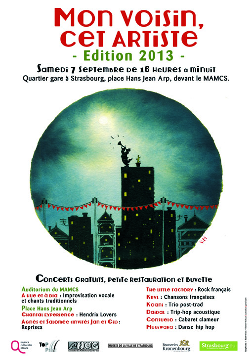 L'affiche 2013 de Valentin Michaut