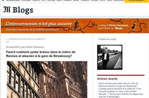 Faut-il vraiment parler alsacien à la gare de Strasbourg?