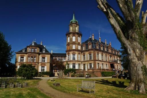 Le château de Froeschwiller, érigé en 1407 sous l'Empire austo-hongrois