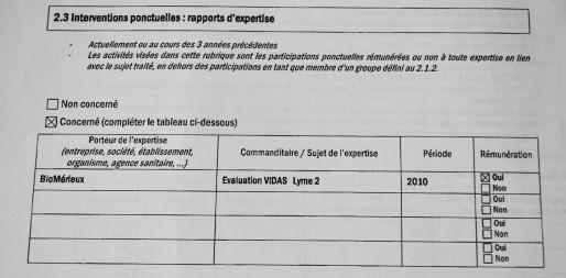 Déclaration d'intérêts à l'INVS par Benoît Jaulhac (Photo AB / Rue89 Strasbourg)