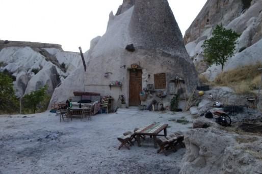 Maison typique en Cappadoce (Photo Pierre AUGE)