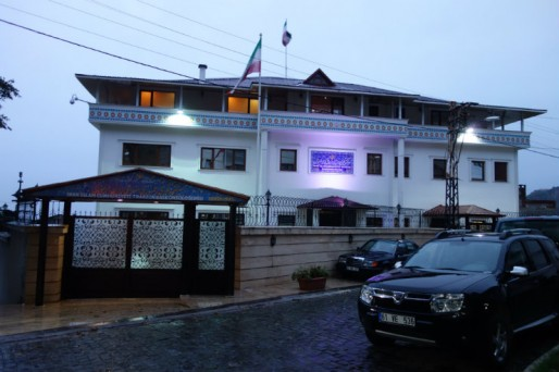 Le consulat iranien à Trabzon, le plus rapide du monde (Photo Pierre AUGE)