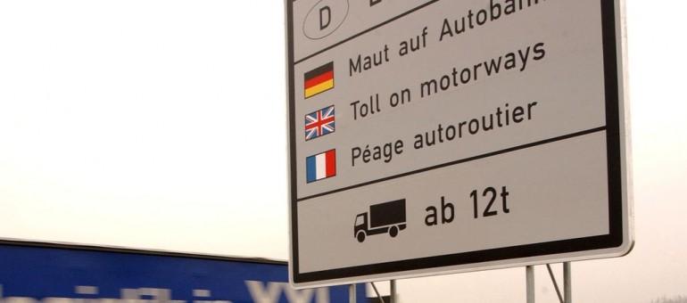L'écotaxe en Allemagne: 4 milliards d'euros par an pour les routes et le train
