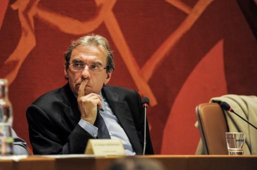 Roland Ries, sénateur-maire de Strasbourg, prendra la tête de liste PS en 2014 (Photo Pascal Bastien)