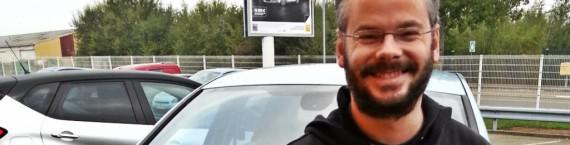 Denis Huber, motivé par l'aventure de la voiture électrique (Document remis)