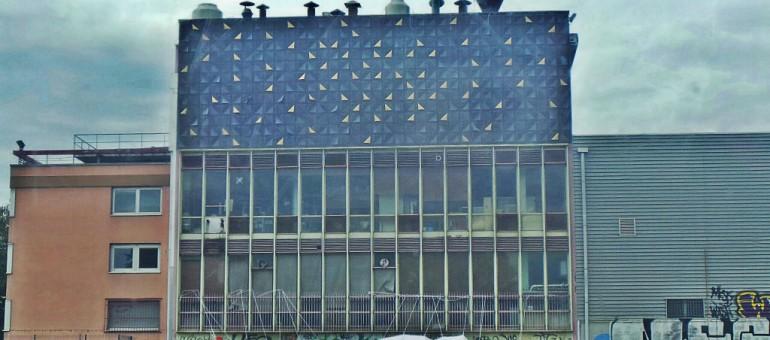 Les Arts Décos signent la façade de l'usine Sati