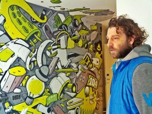 Vincent Faller prévoit d'agrandir le Graffalgar dès l'année prochaine (Photo PF / Rue89 Strasbourg / cc)